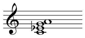 Sixth chord - C minor chord with added major sixth