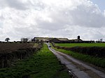File:Minor road and farm buildings, west of Longstock - geograph.org.uk - 145227.jpg