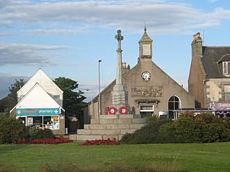 Mintlaw - Image: Mintlaw monument 10