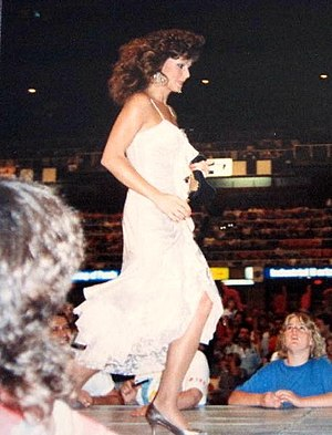 Miss Elizabeth - Miss Elizabeth played a central role in the storyline between WrestleMania IV and WrestleMania V.