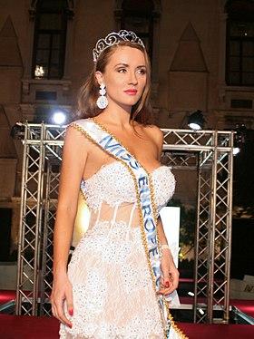 Diana_Starkova,Miss Europe 2016.
