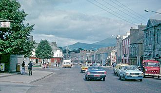 Mitchelstown - Streetscape in 1978.