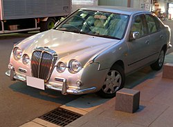 Mitsuoka Ryoga Sedan 1.8 (P11) at night front.JPG