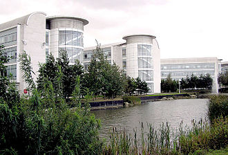 Filton - Part of the Defence Equipment and Support building at Abbey Wood, Filton. The site employs over 13,000 people, managing procurement contracts for the Navy, the Army and the Air Force.