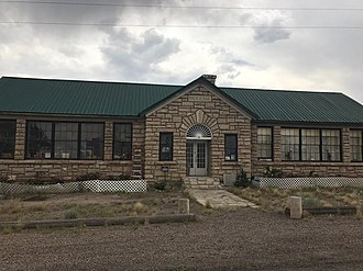 National Register of Historic Places listings in Iron County, Utah - Image: Modena Elementary School