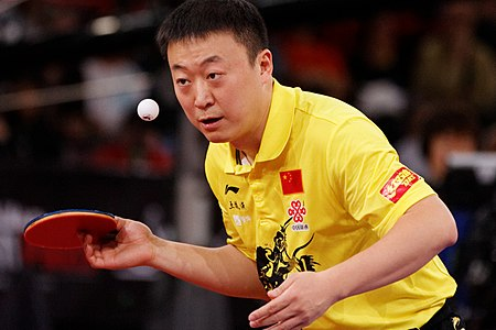 Ma Lin at the 2013 World Table Tennis Championships