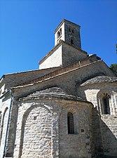 Monestir romànic de Sant Ponç de Corbera -Terme municipal de Cervelló-.jpg