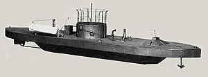 USS Monitor - Model of USS Monitor