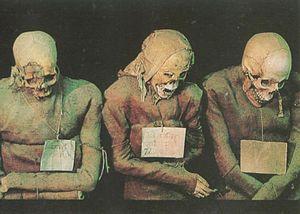 Catacombe dei Cappuccini - Image: Monks' Corridor