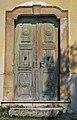 Monoszlói református templom főhomlokzatának kapuja.jpg