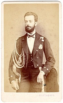 Montabone, Luigi (18..-1877) - Milano - Amadeo l (1845-1890) Duke of Aosta, and King of Spain.jpg