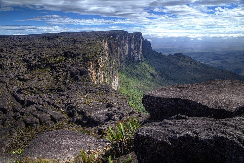 Monte Roraima, ponto mais alto