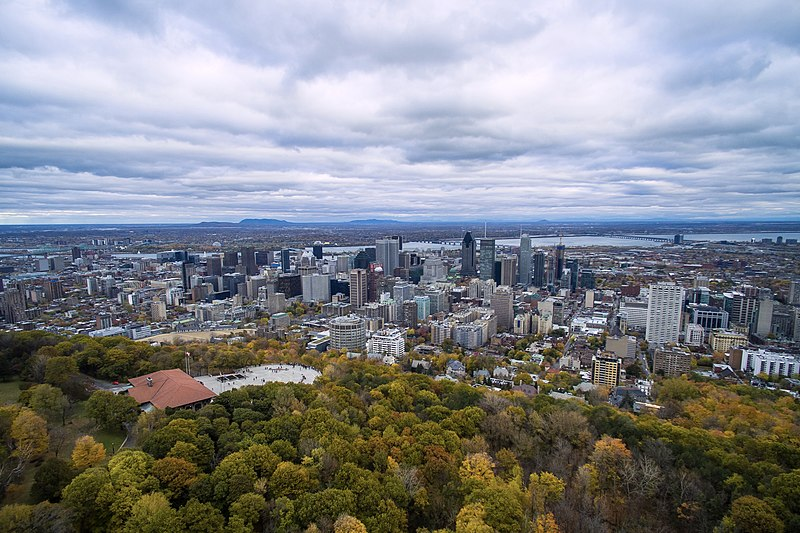 Montreal from above Mont Royal.jpg
