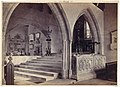 Monuments and Chancel Steps, Tenby Church MET DP112674.jpg