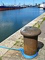 Mooring bollard, York Dock, Belfast - geograph.org.uk - 874452.jpg
