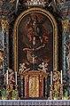 Moosburg Pfarrkirche hll Michael und Georg Hochaltar Oelbild hl Michael 26012016 0373.jpg