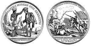 Daniel Morgan - Medal voted for Morgan by Congress