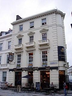 pub in Pimlico, London
