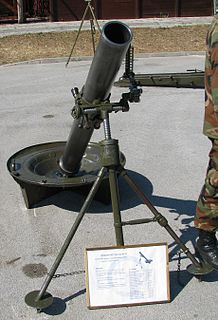 Light mortar 120mm M75 Mortar