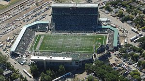 Taylor Field (Regina) - Image: Mosaic Stadium at Taylor Field