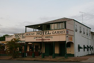 Mount Garnet, Queensland - Mount Garnet pub