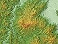 Mount Hijiri (Nagano) Relief Map, SRTM-1.jpg