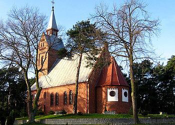 Polski: kościół św. apostołów Piotra i PawłaEnglish: St. Apostols Peter and Paul Roman Catholic Church