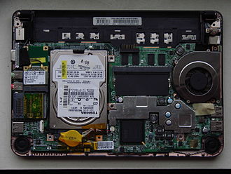 MSI Wind Netbook - MSI Wind Netbook U90x internals