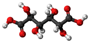 Mucic acid - Image: Mucic acid molecule ball