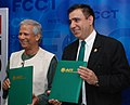 Muhammad Yunus and President of Asian Institute of Technology (AIT) signing a MOU.jpg