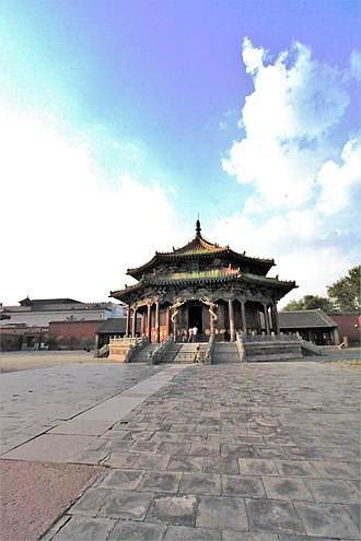 Qing dynasty - The Mukden Palace