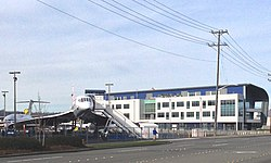 release date 91237 71ba1 The Airpark s Concorde in the foreground and Raisbeck Aviation High School  in the background, 2014.