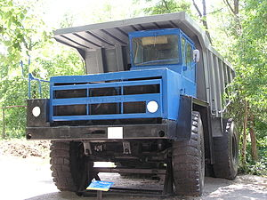 Automotive industry in the Soviet Union - BelAZ-548A