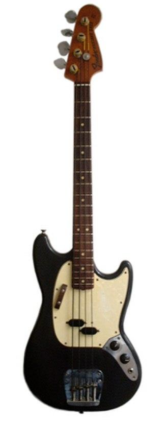 Fender Mustang Bass - Image: Mustang Bass 1971 sml