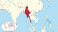 Myanmar in its region.svg