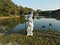 Nő szobor, Szállásréti-tó, 2018 Dombóvár.jpg