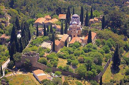 Kloster Nea Moni auf der Insel Chios; UNESCO-Weltkulturerbe in Griechenland. (NEA MONH)