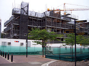 NICTA - Construction of NICTA's new premises at the Australian Technology Park (ATP).