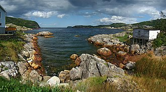 Salvage, Newfoundland and Labrador - Image: NLC Eastport 4 tango 7174