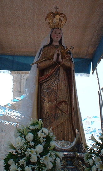 Virgin of Ocotlán - Image: NS Ocotlan 3