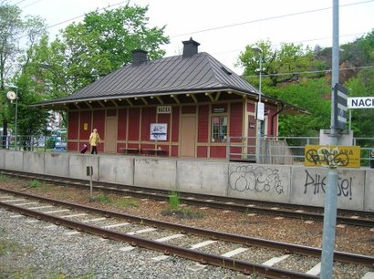 How to get to Nacka Station with public transit - About the place