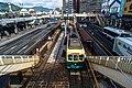 Nagaden 303 at Nagasaki Station (48768214736).jpg
