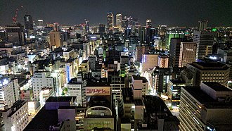 Nagoya - Nagoya city night view