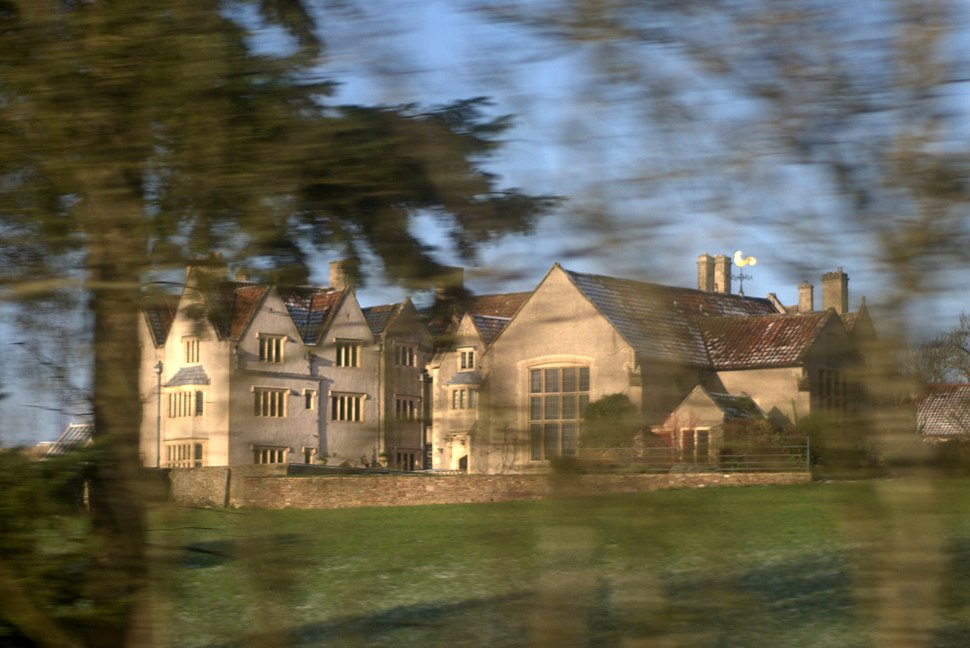 Nailsea Court from railway