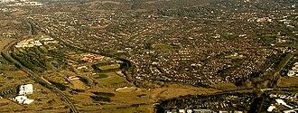 Narrabundah, Australian Capital Territory - Narrabundah and Red Hill in 2008