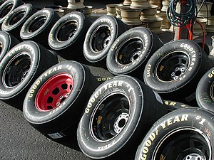 Polybutadiene - Racing tires