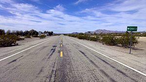 Chambless, California - Image: National Trails Hwy Chambless Cadiz
