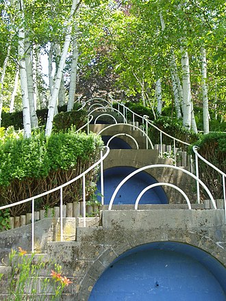 The Trustees of Reservations - The Blue Steps of Naumkeag