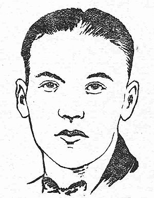 Neil R. Jones - Neil R. Jones as pictured in Air Wonder Stories, January 1930