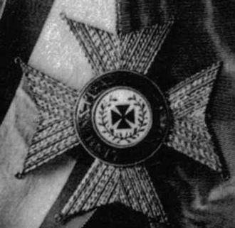 Order of Saint Joachim - Lord Nelson's star